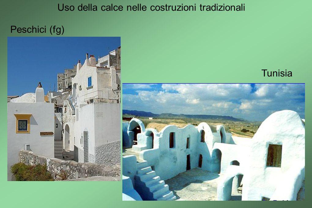 Uso della calce nelle costruzioni tradizionali