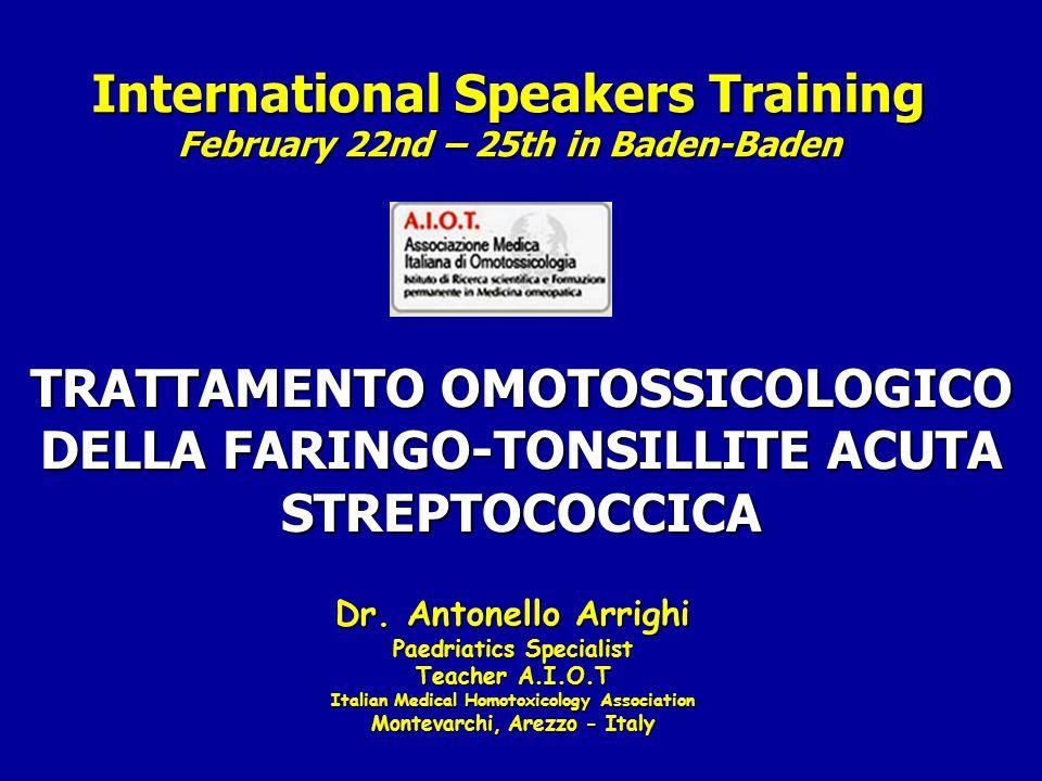 International Speakers Training February 22nd – 25th in Baden-Baden