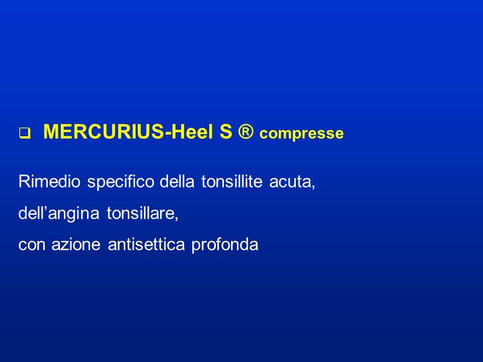 MERCURIUS-Heel S ® compresse