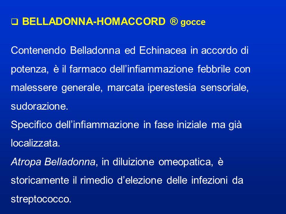 BELLADONNA-HOMACCORD ® gocce