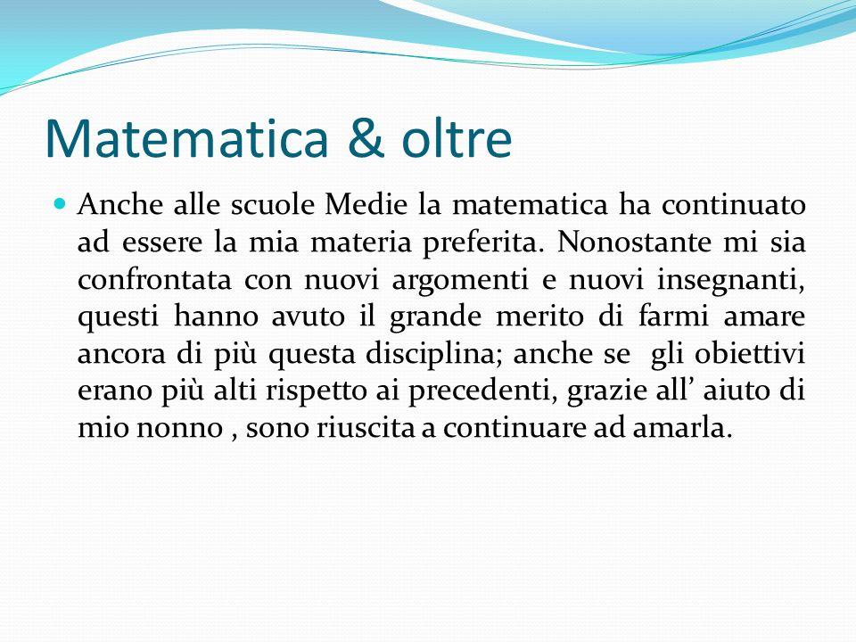 Matematica & oltre
