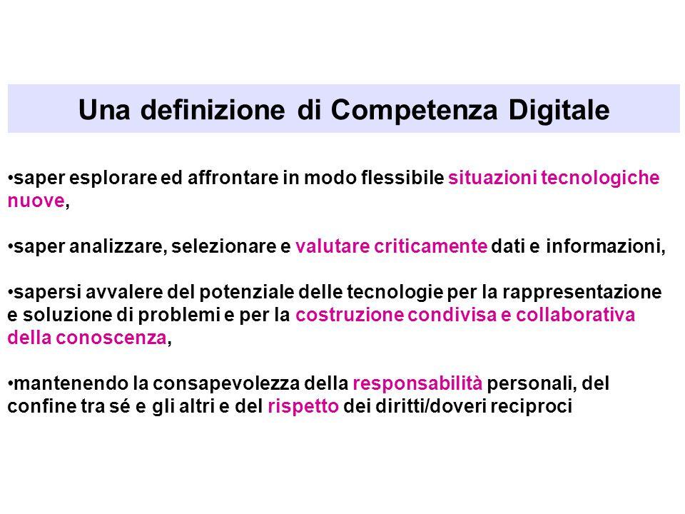 Una definizione di Competenza Digitale