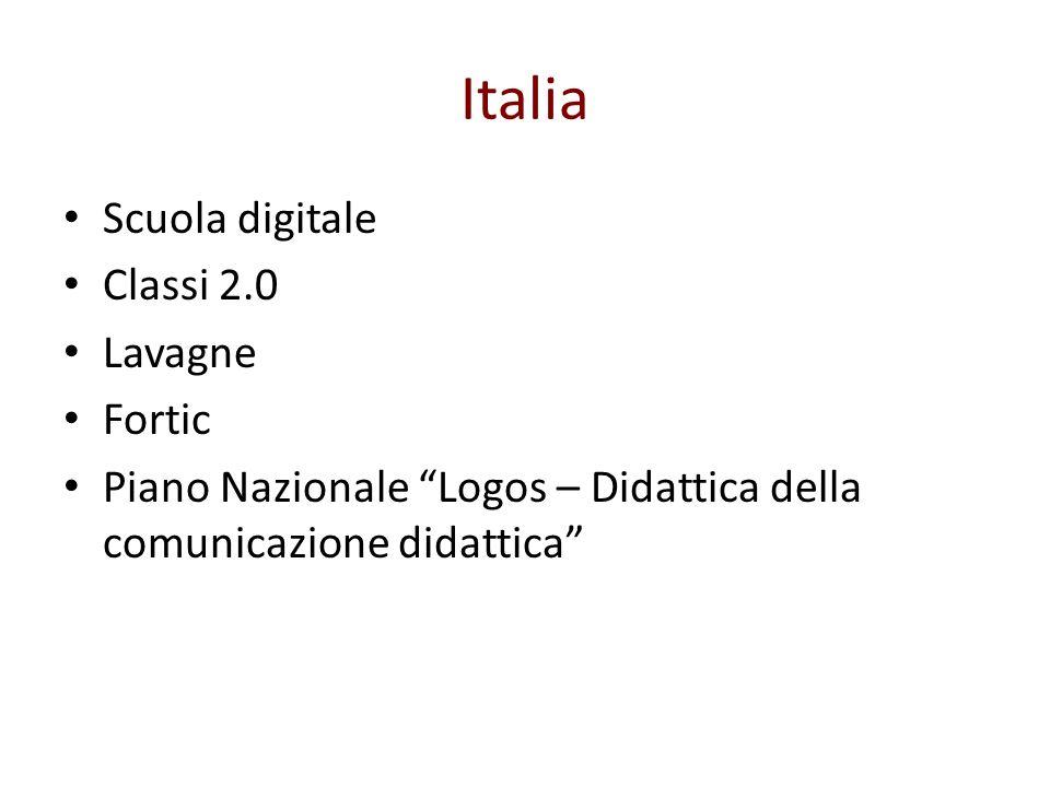 Italia Scuola digitale Classi 2.0 Lavagne Fortic