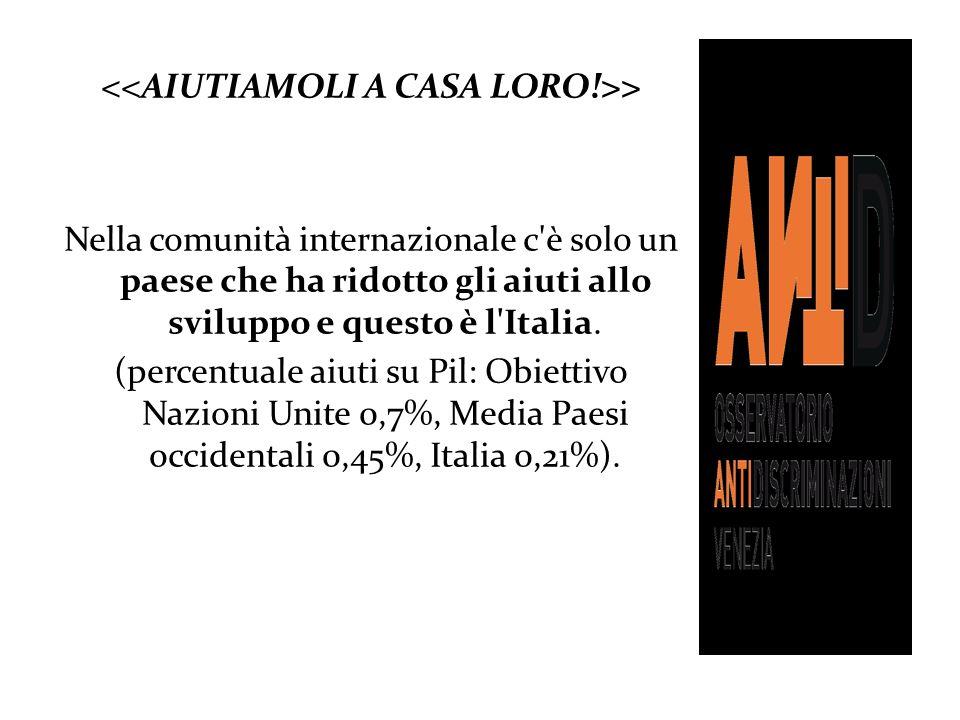 <<AIUTIAMOLI A CASA LORO!>>