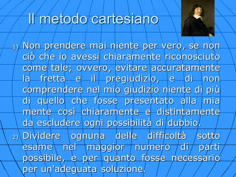 Il metodo cartesiano