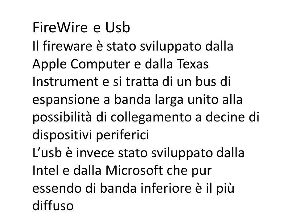 FireWire e Usb
