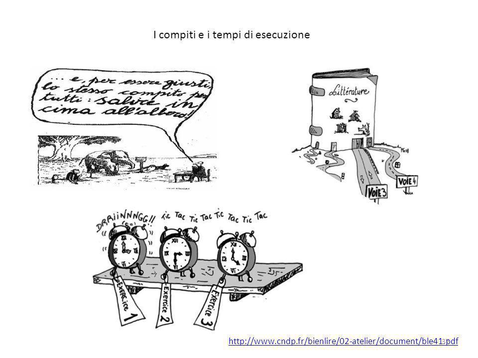 I compiti e i tempi di esecuzione