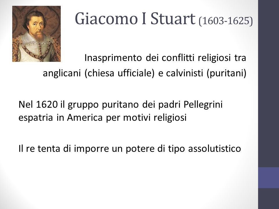 Giacomo I Stuart (1603-1625)