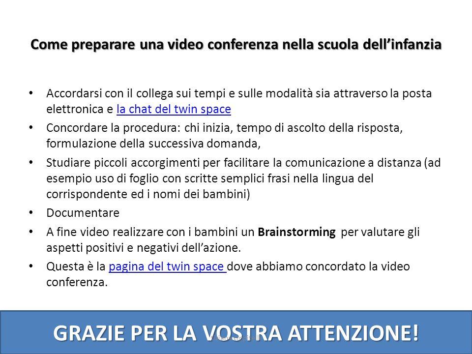 Come preparare una video conferenza nella scuola dell'infanzia