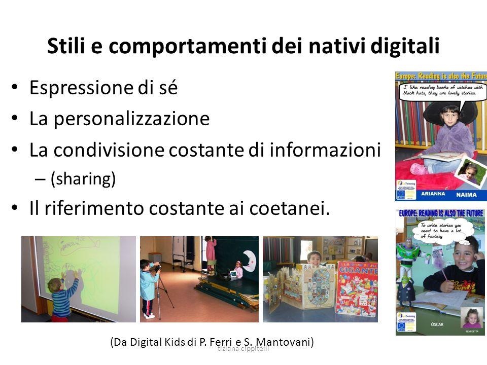 Stili e comportamenti dei nativi digitali