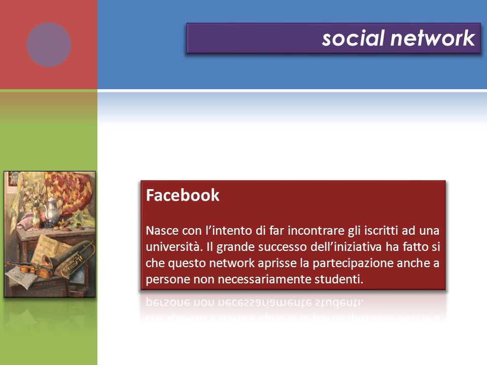 social network Facebook