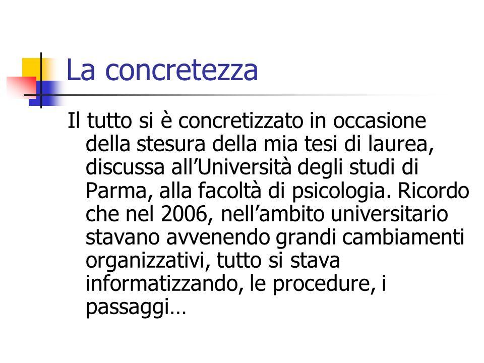 La concretezza