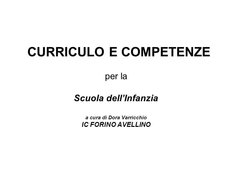 CURRICULO E COMPETENZE
