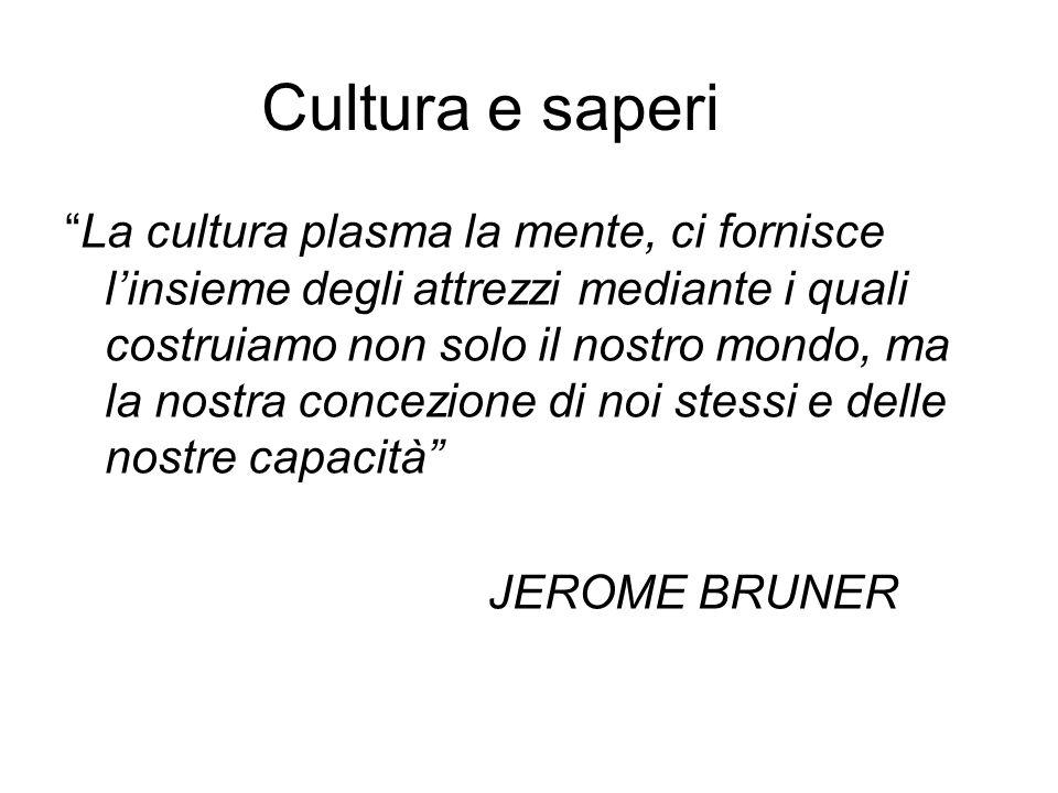 Cultura e saperi