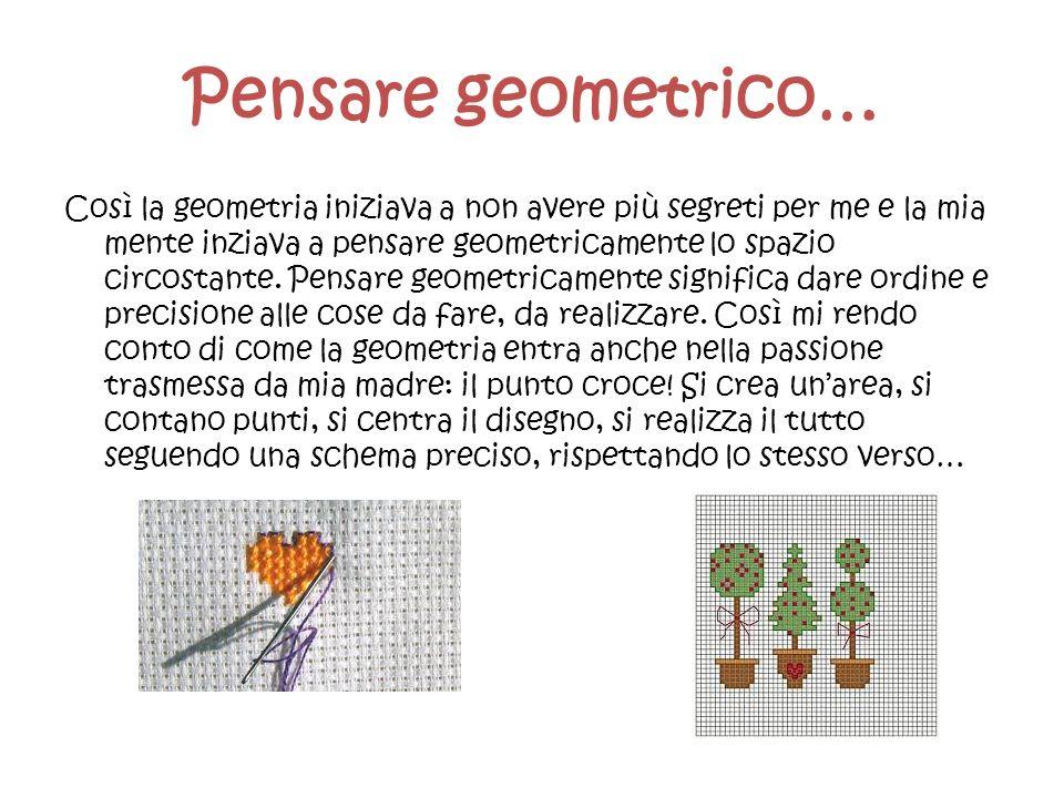 Pensare geometrico…
