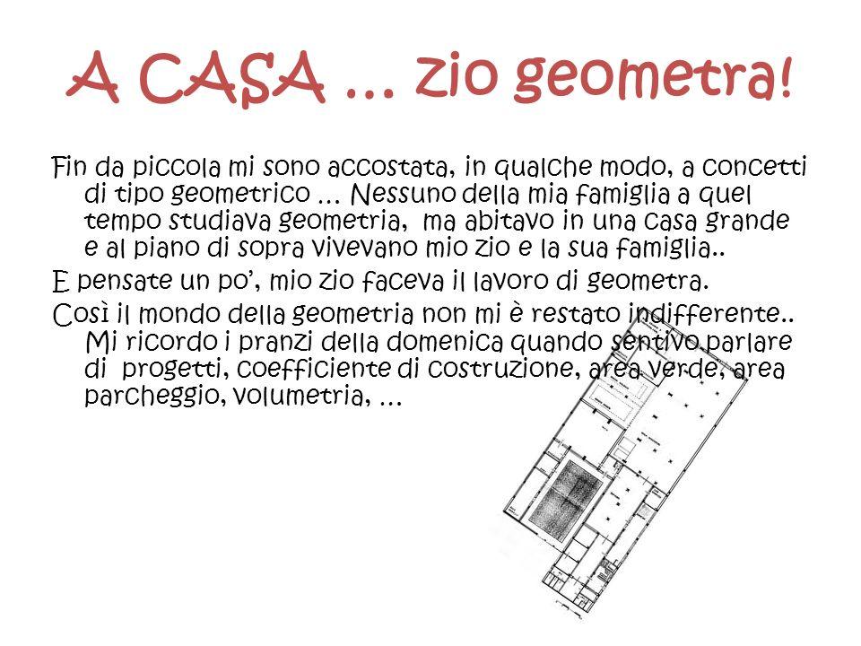 A CASA … zio geometra!