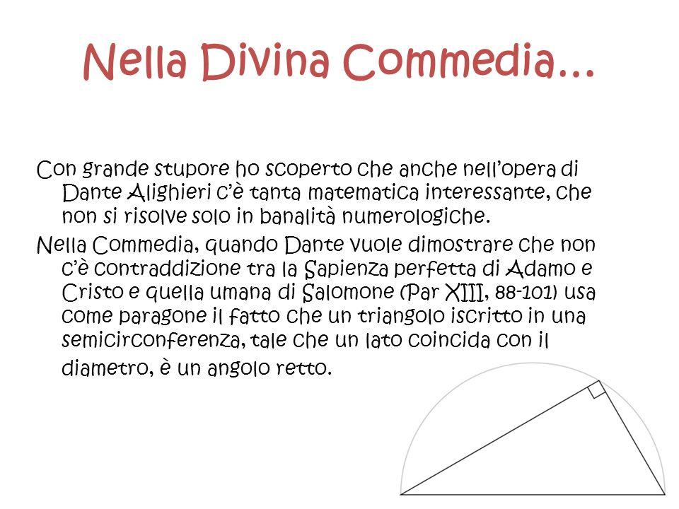 Nella Divina Commedia…