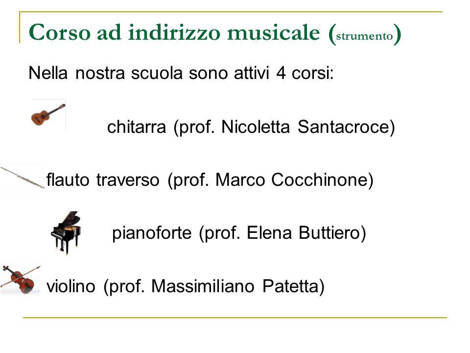 Corso ad indirizzo musicale (strumento)