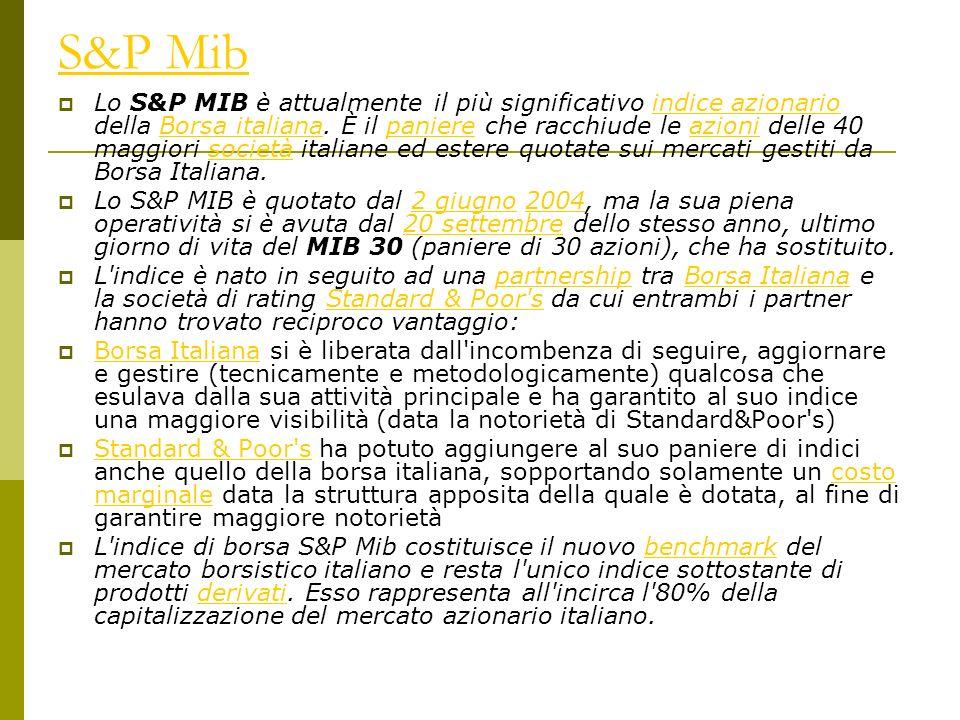 S&P Mib