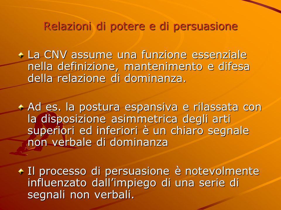 Relazioni di potere e di persuasione
