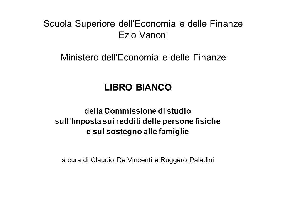 Scuola Superiore dell'Economia e delle Finanze Ezio Vanoni Ministero dell'Economia e delle Finanze