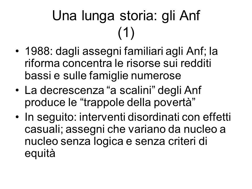 Una lunga storia: gli Anf (1)