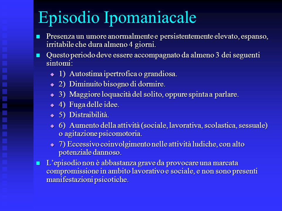Episodio Ipomaniacale