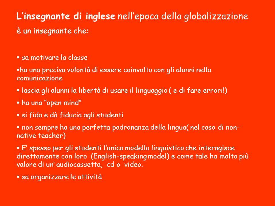 L'insegnante di inglese nell'epoca della globalizzazione
