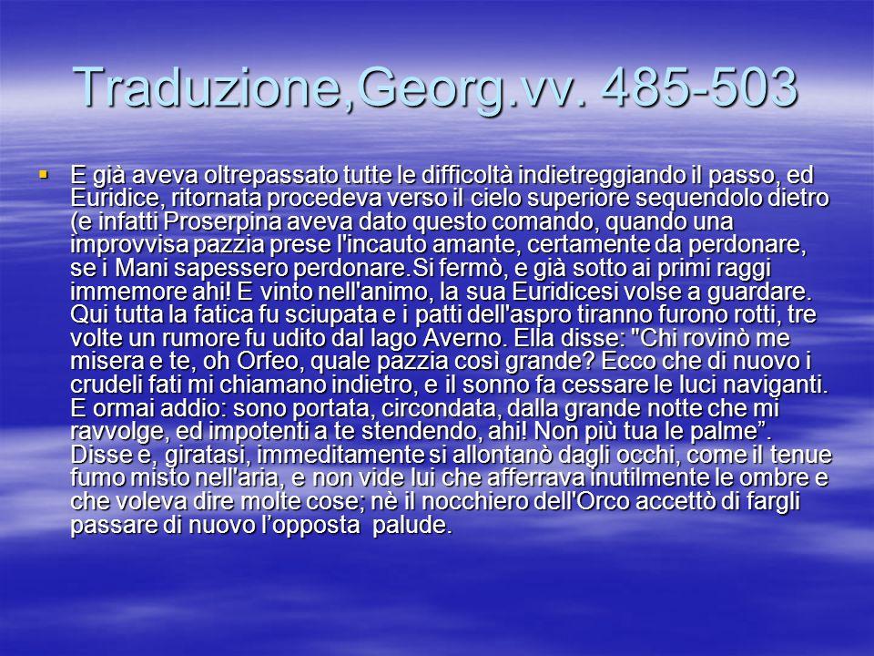 Traduzione,Georg.vv. 485-503