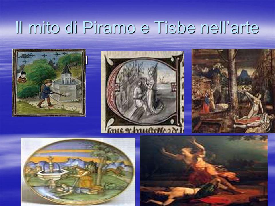 Il mito di Piramo e Tisbe nell'arte
