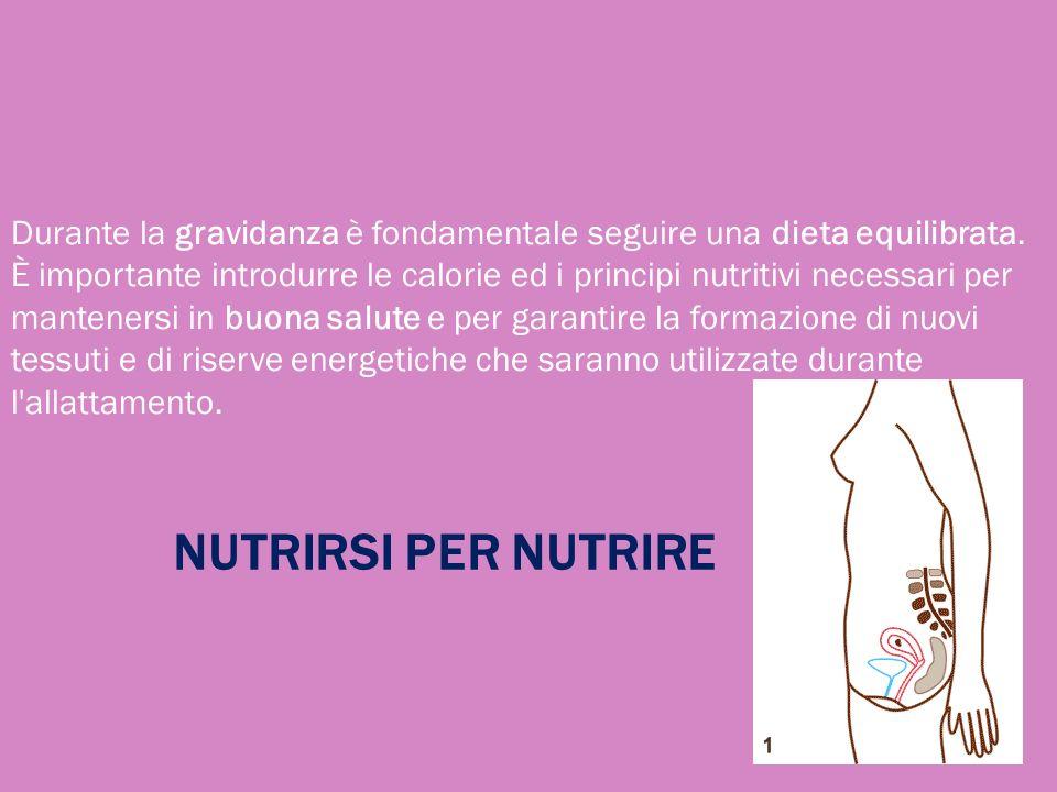 Durante la gravidanza è fondamentale seguire una dieta equilibrata