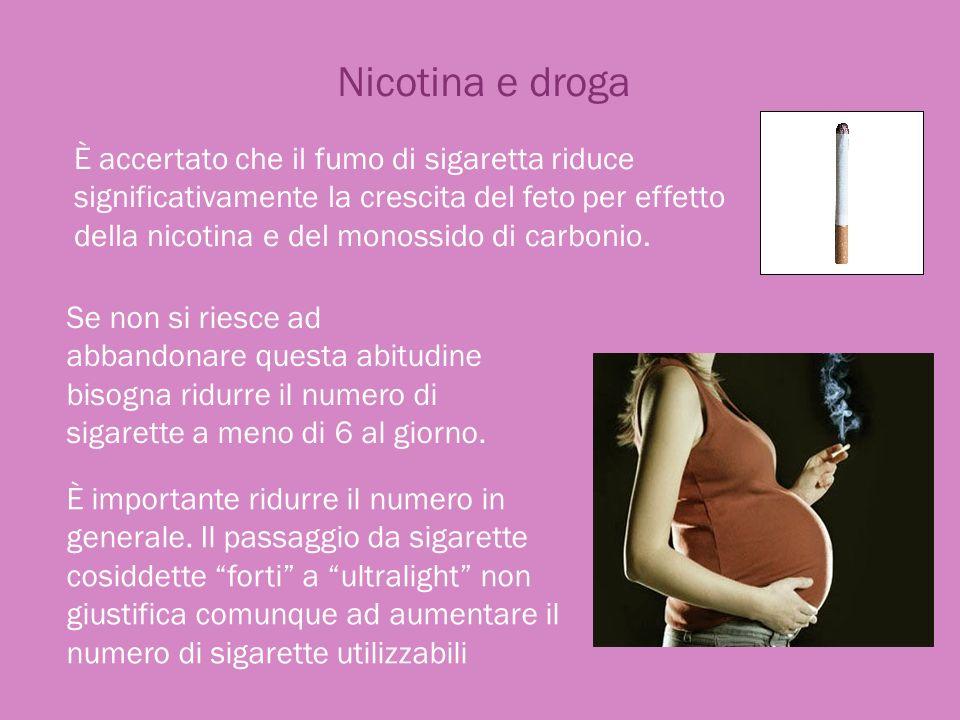 Nicotina e droga