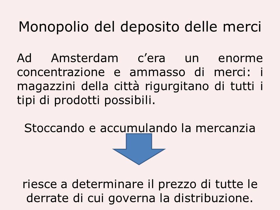 Monopolio del deposito delle merci
