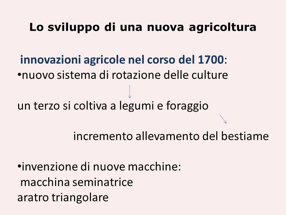 Lo sviluppo di una nuova agricoltura