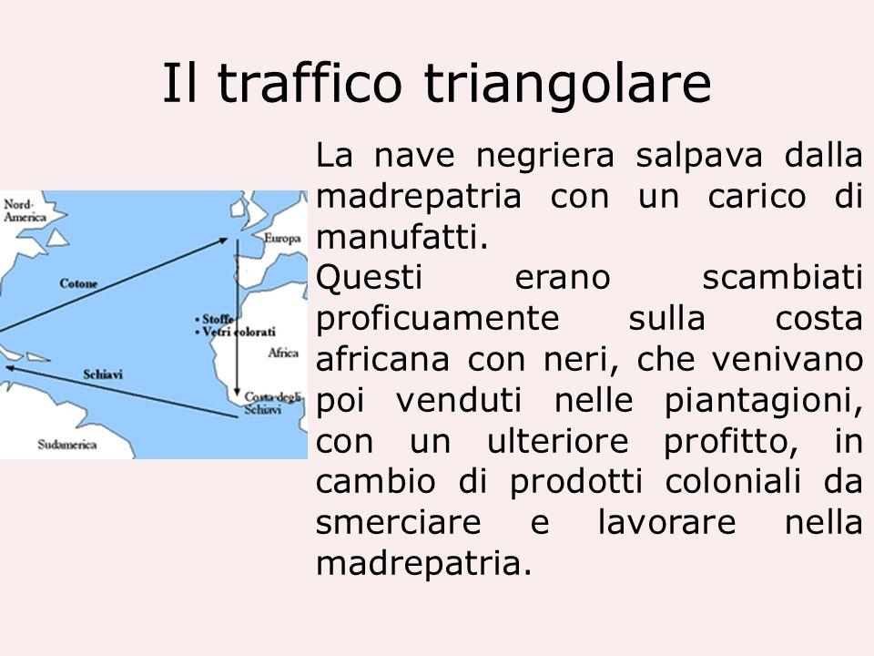 Il traffico triangolare