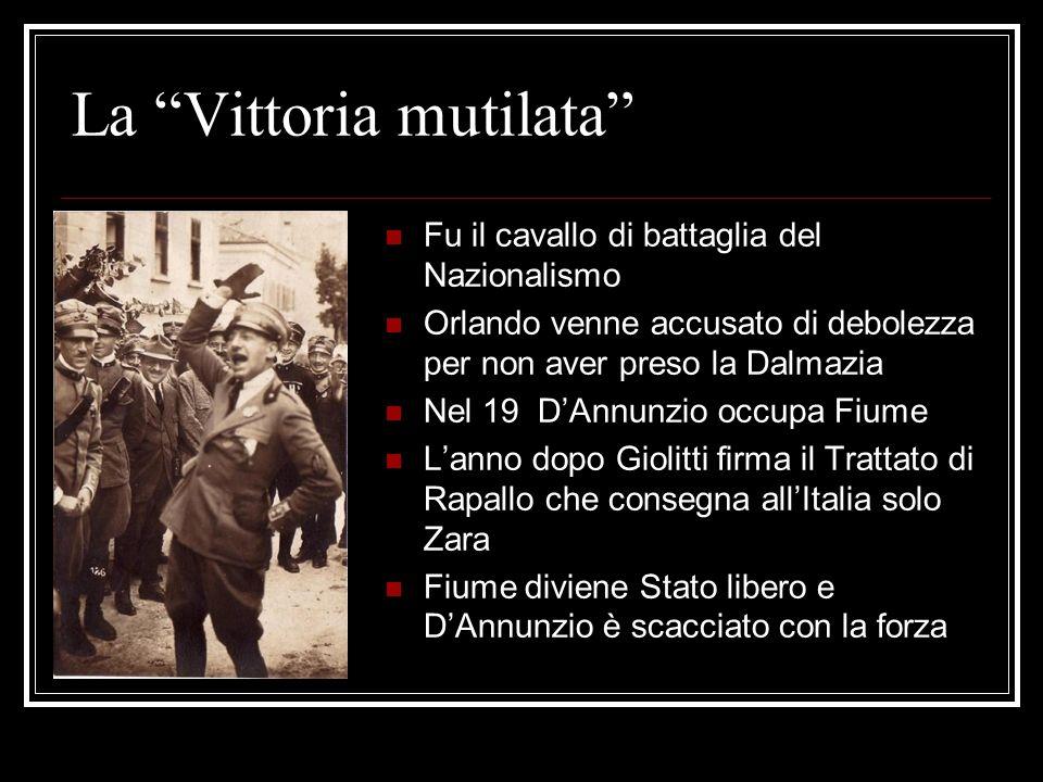 La Vittoria mutilata