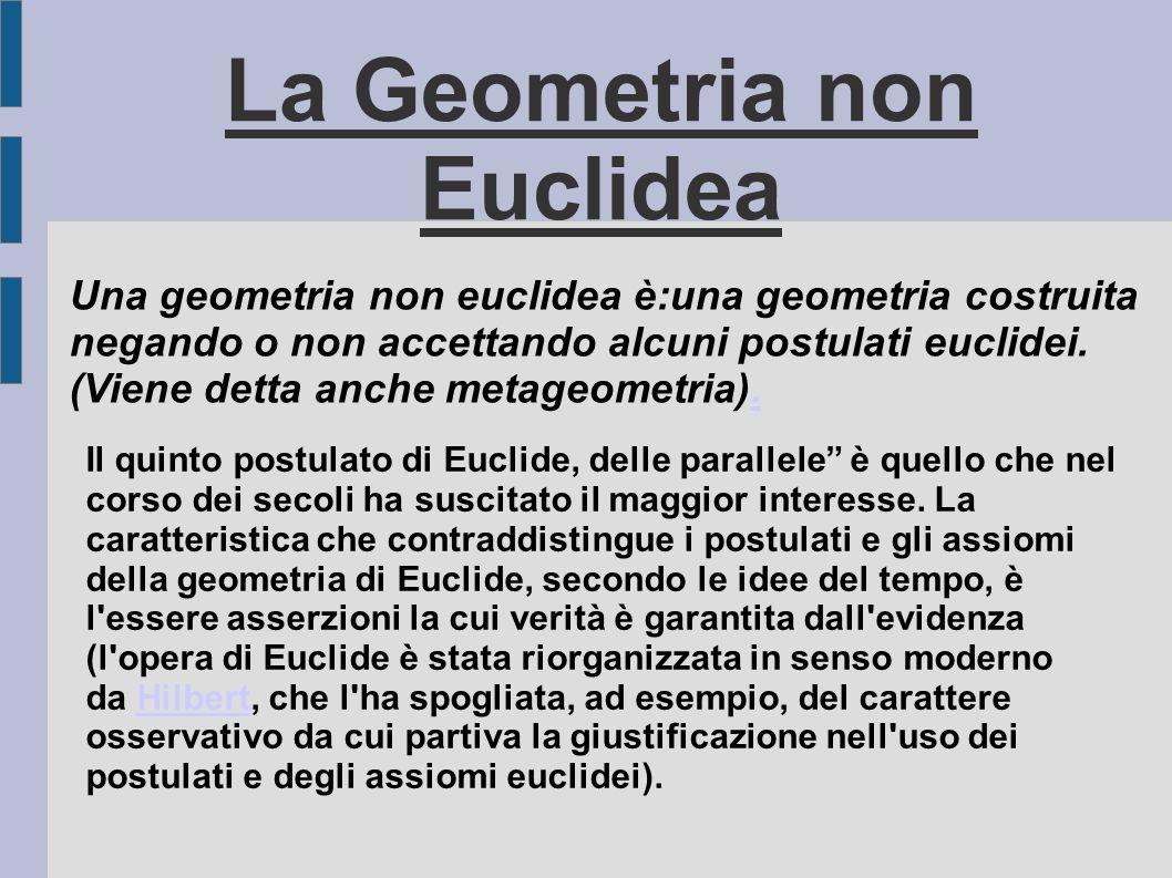 La Geometria non Euclidea