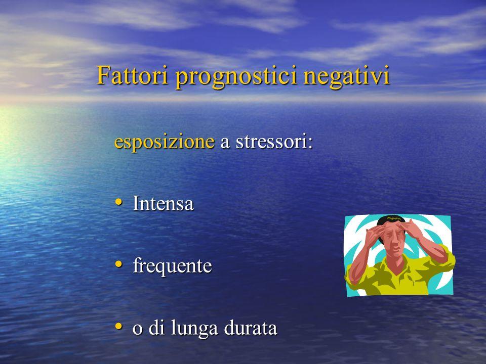 Fattori prognostici negativi
