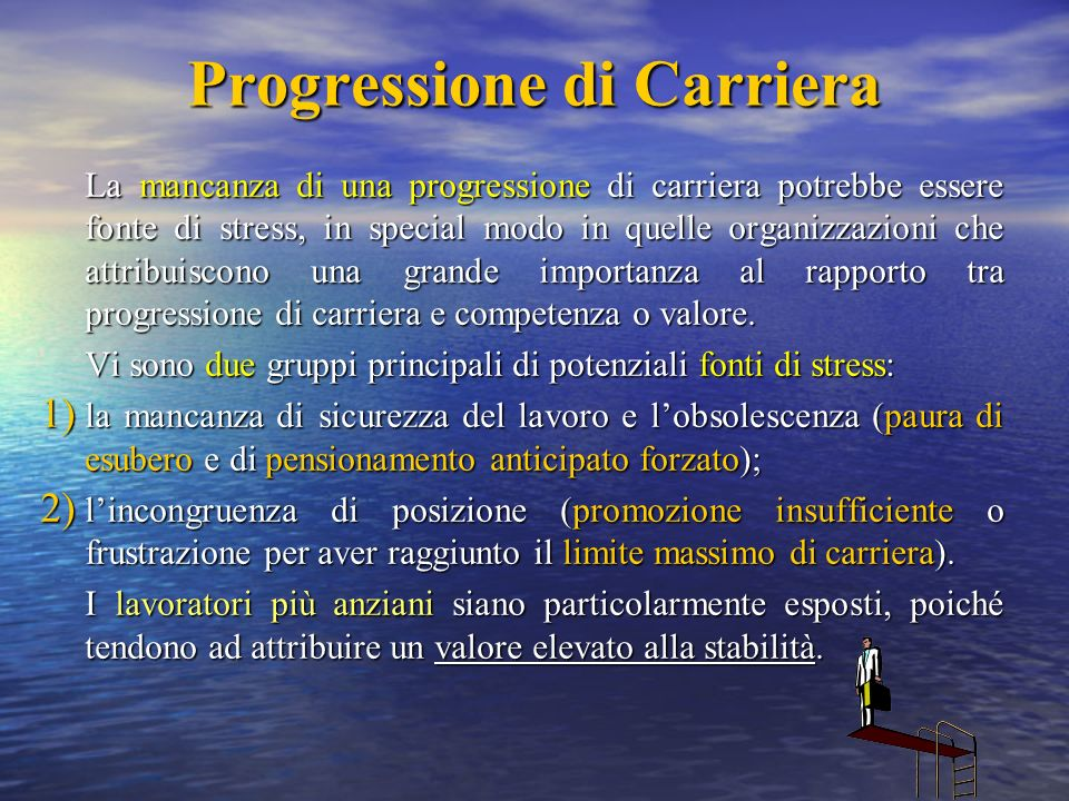 Progressione di Carriera