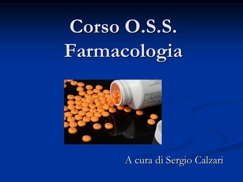 Corso O.S.S. Farmacologia