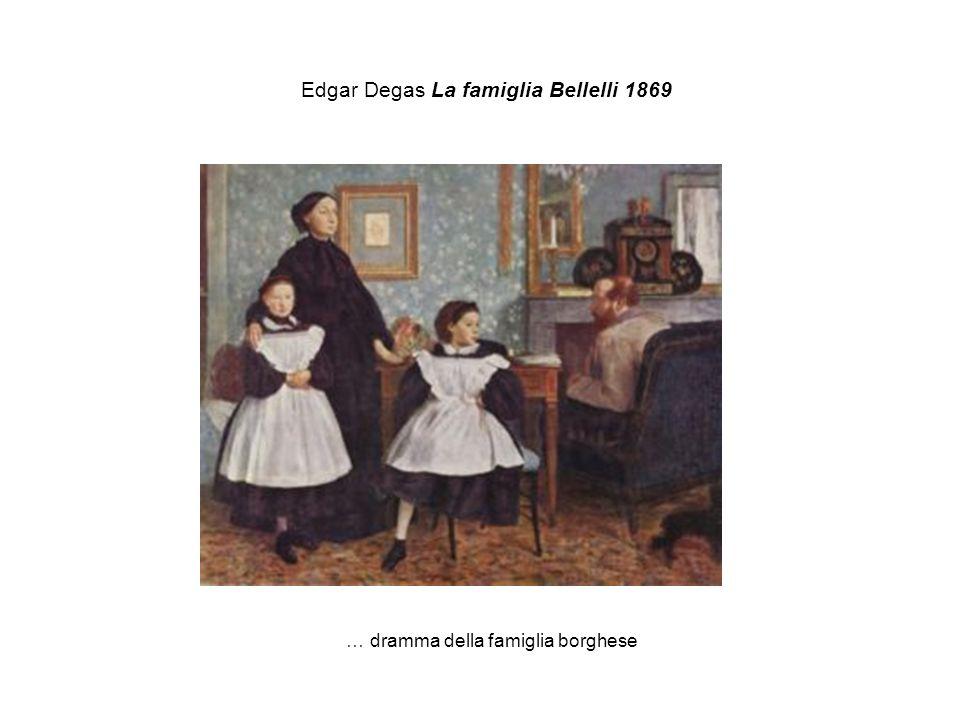 Edgar Degas La famiglia Bellelli 1869