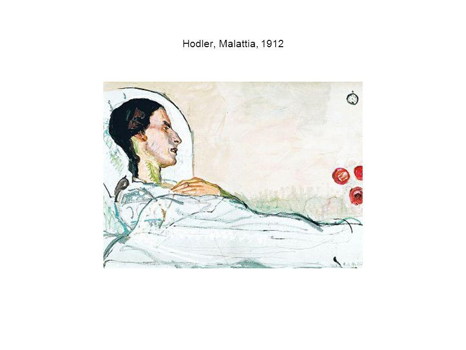 Hodler, Malattia, 1912