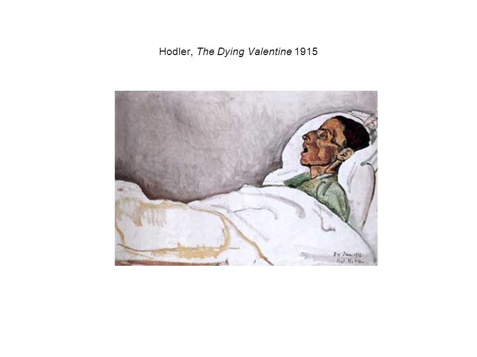 Hodler, The Dying Valentine 1915
