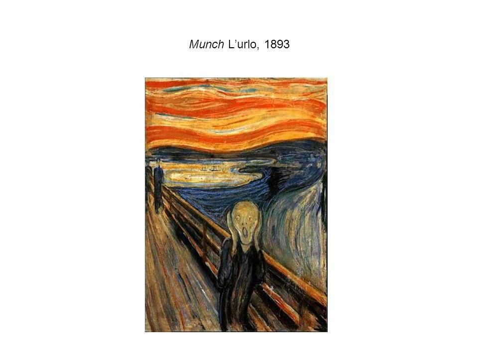 Munch L'urlo, 1893