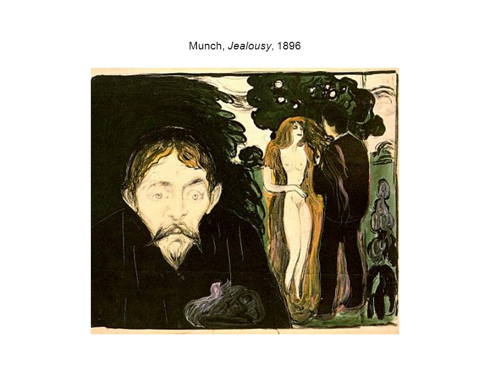 Munch, Jealousy, 1896