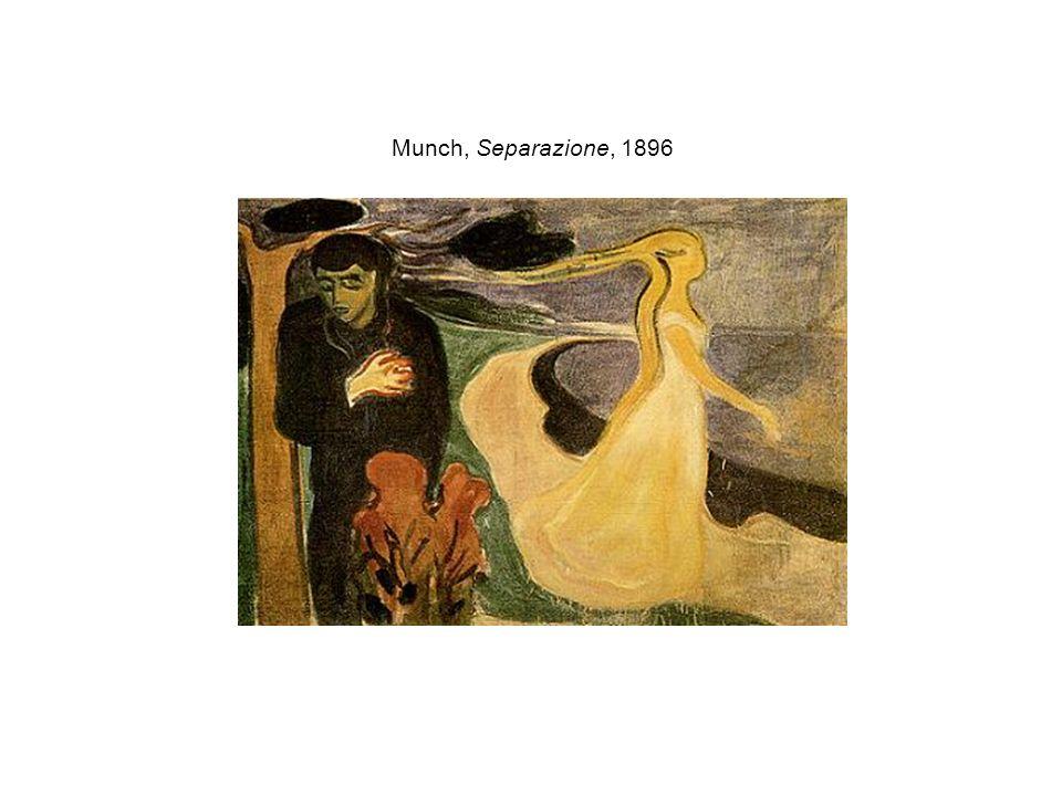 Munch, Separazione, 1896