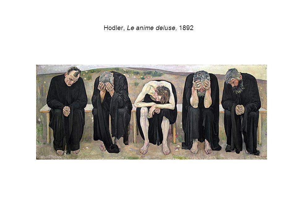 Hodler, Le anime deluse, 1892