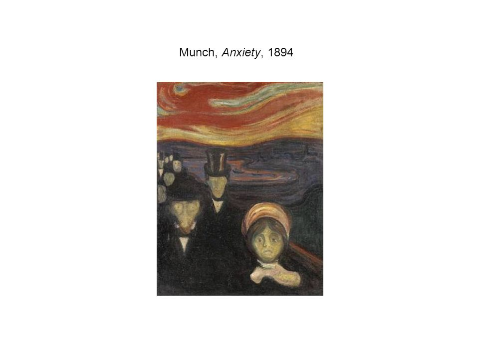 Munch, Anxiety, 1894