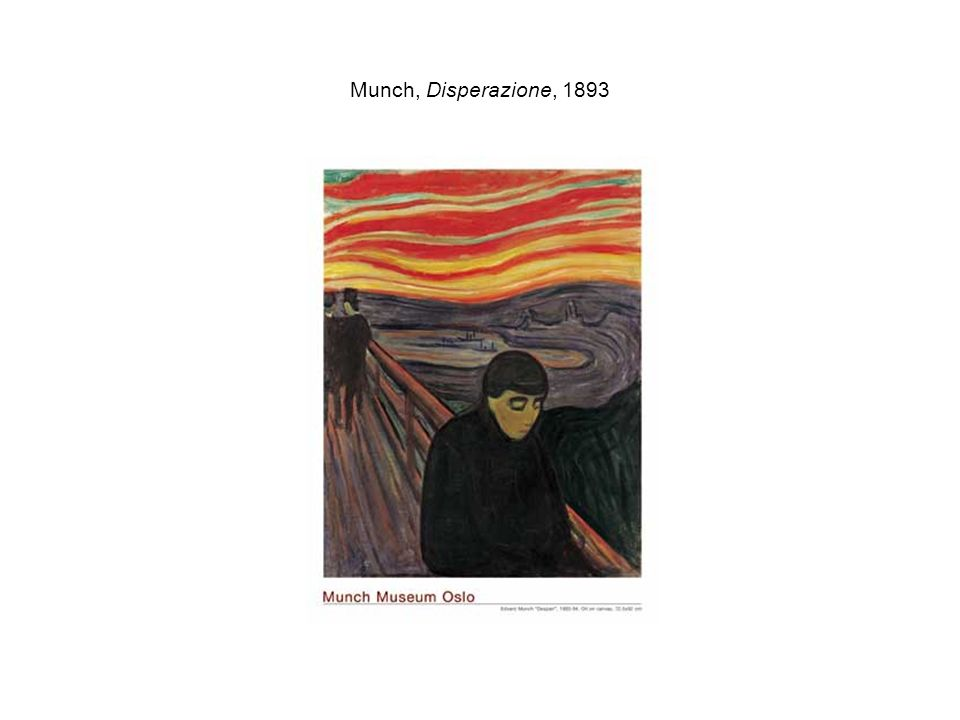Munch, Disperazione, 1893