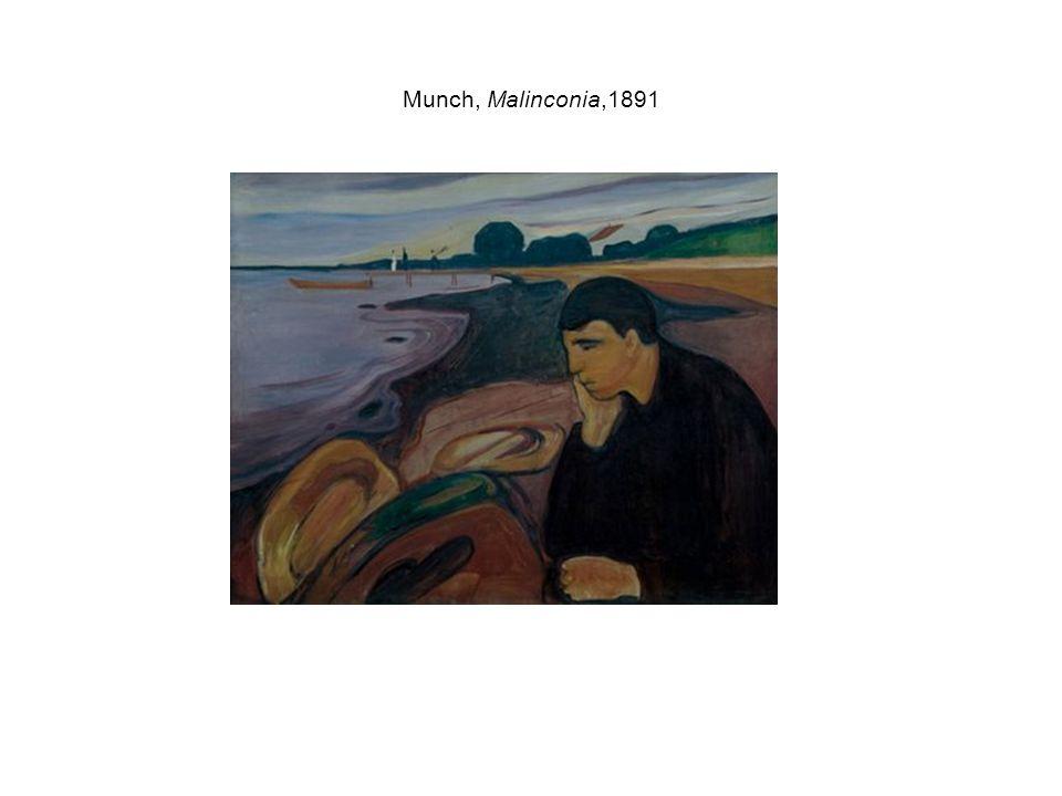 Munch, Malinconia,1891